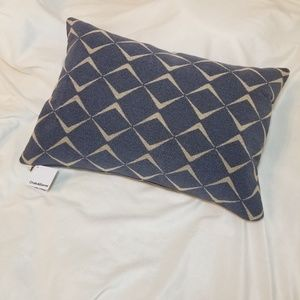 "Crate & Barrel NWT Throw Pillow & Case 22""×15"""